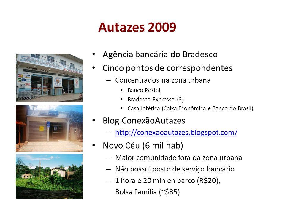 Autazes 2009 Agência bancária do Bradesco