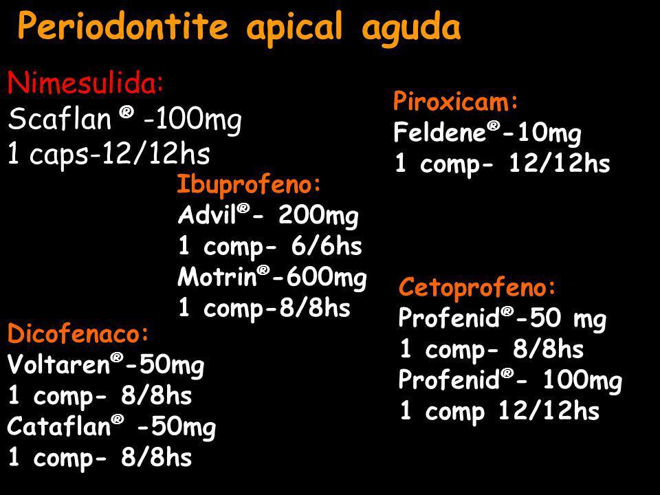 Periodontite apical aguda