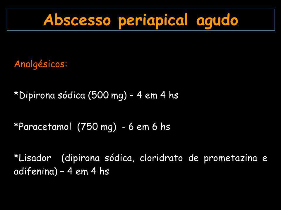 Abscesso periapical agudo