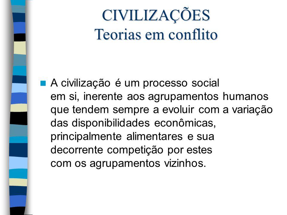 CIVILIZAÇÕES Teorias em conflito