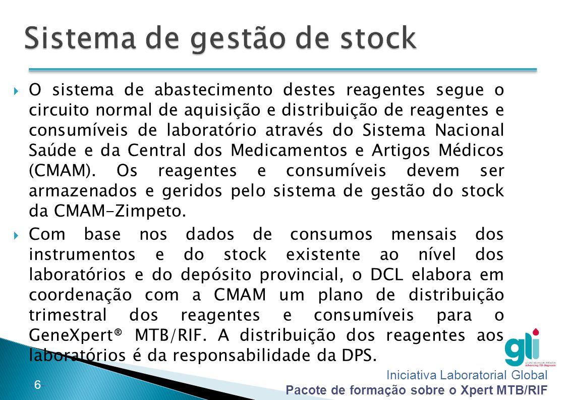 Sistema de gestão de stock