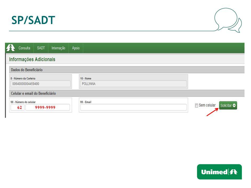 SP/SADT 62 9999-9999