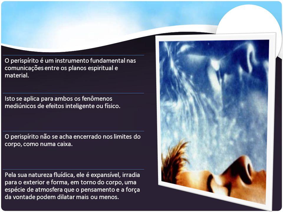O perispírito é um instrumento fundamental nas comunicações entre os planos espiritual e material.