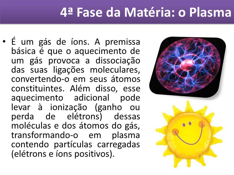 4ª Fase da Matéria: o Plasma