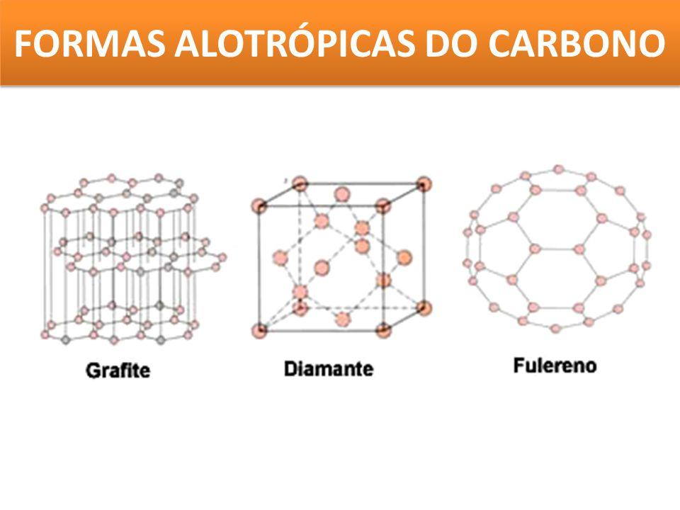 FORMAS ALOTRÓPICAS DO CARBONO