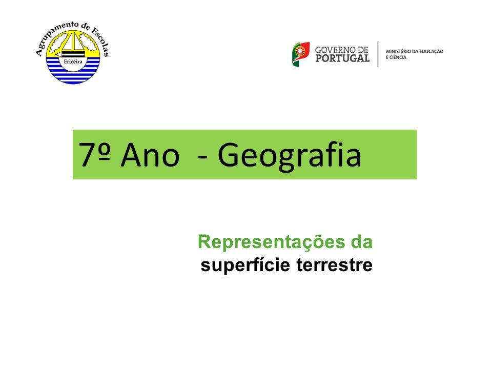 7º Ano - Geografia Representações da superfície terrestre