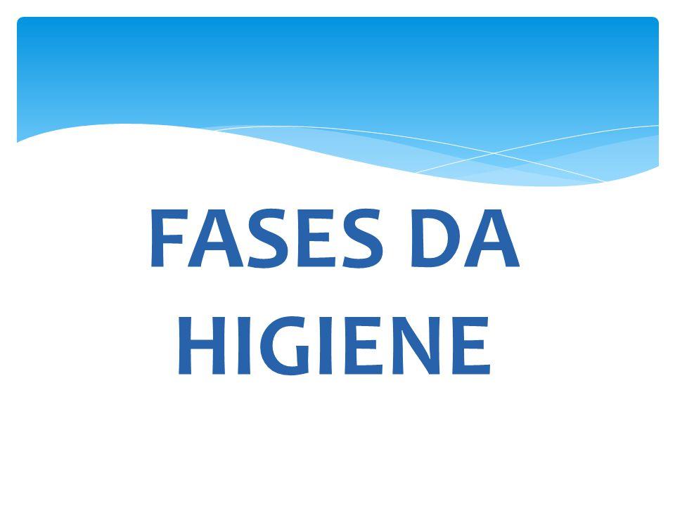 FASES DA HIGIENE
