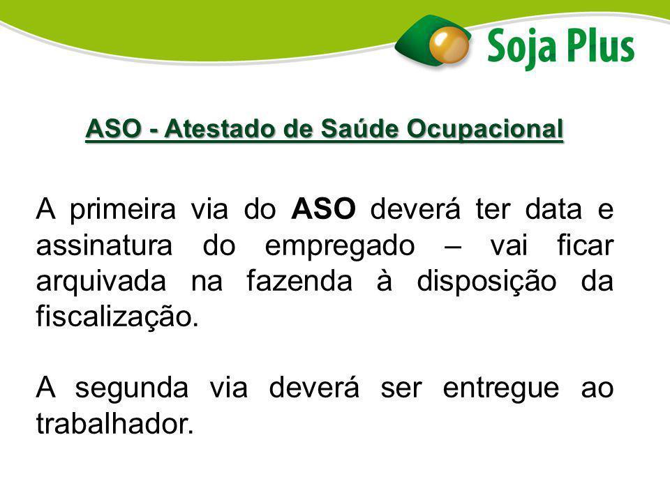 ASO - Atestado de Saúde Ocupacional