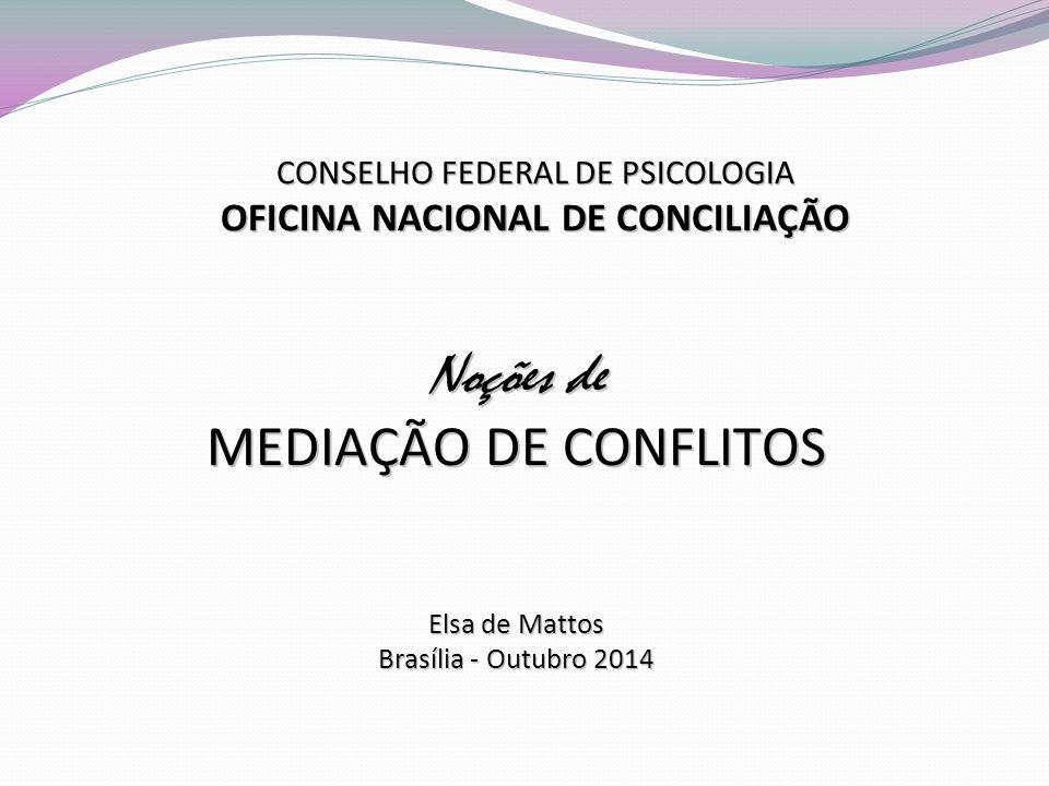 OFICINA NACIONAL DE CONCILIAÇÃO