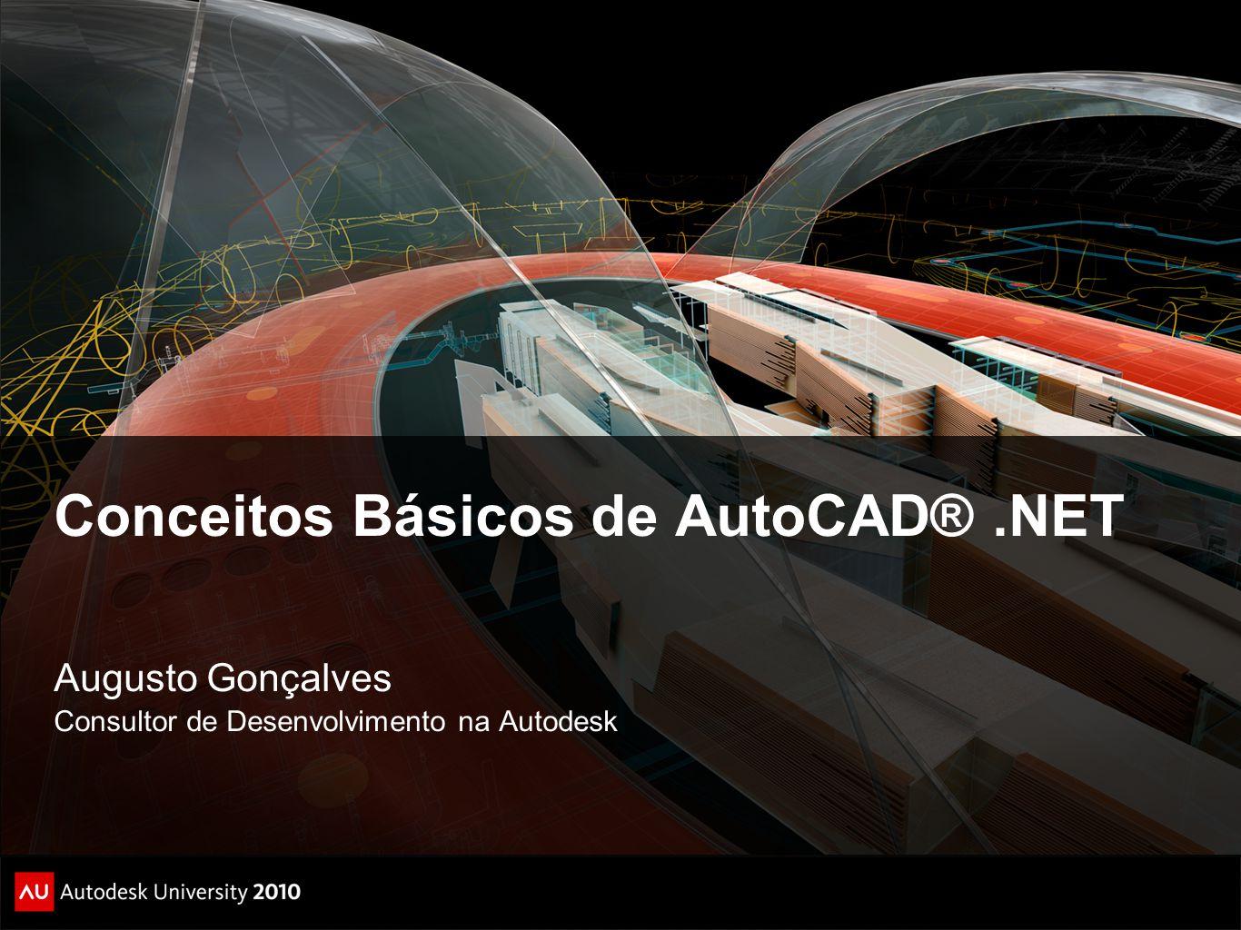 Conceitos Básicos de AutoCAD® .NET