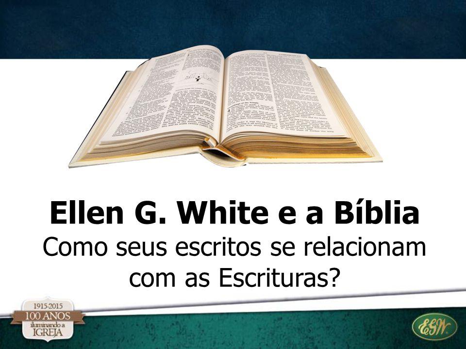Como seus escritos se relacionam com as Escrituras