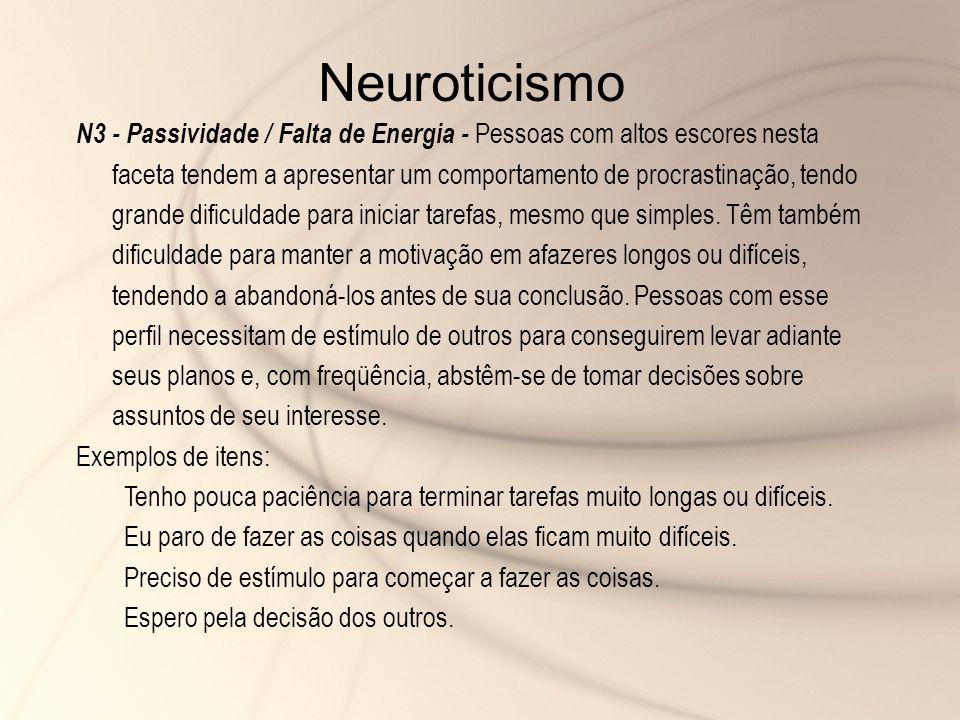 Neuroticismo