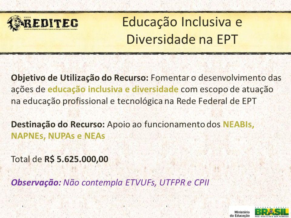 Educação Inclusiva e Diversidade na EPT
