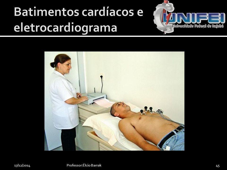 Batimentos cardíacos e eletrocardiograma