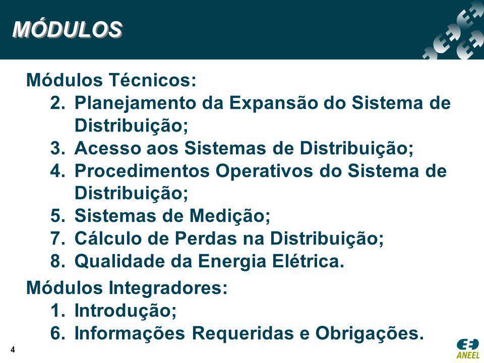 MÓDULOS Módulos Técnicos: