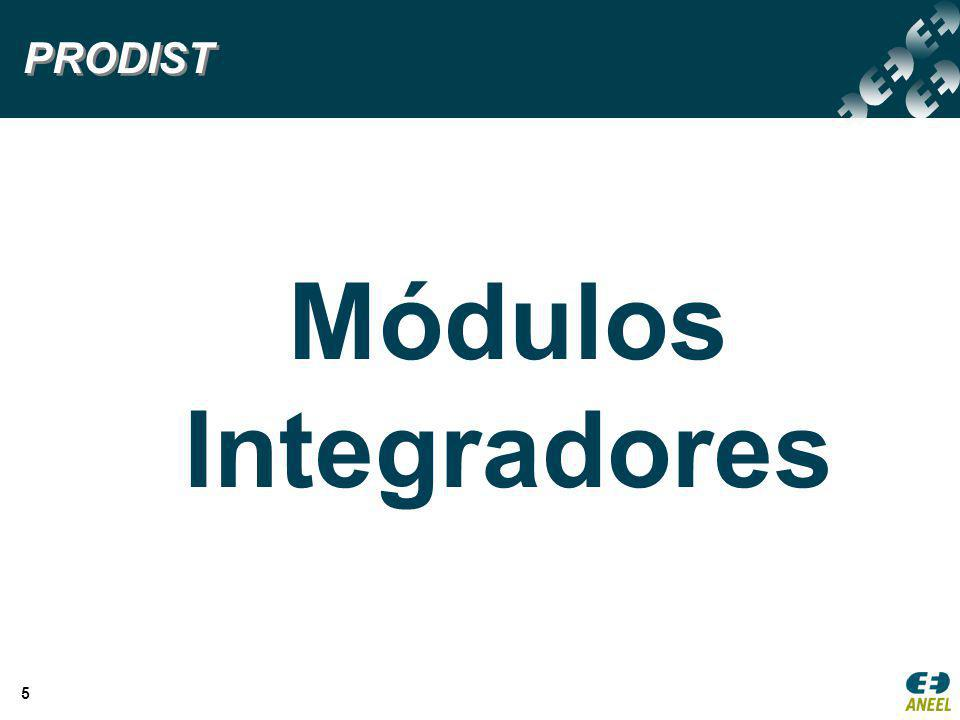 PRODIST Módulos Integradores