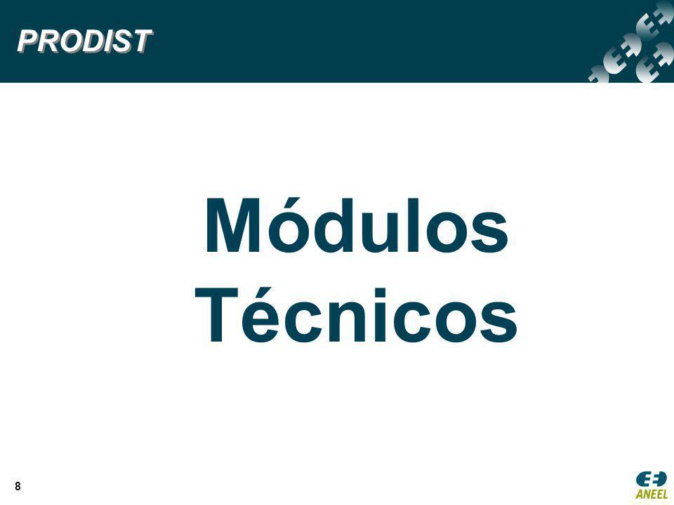 PRODIST Módulos Técnicos