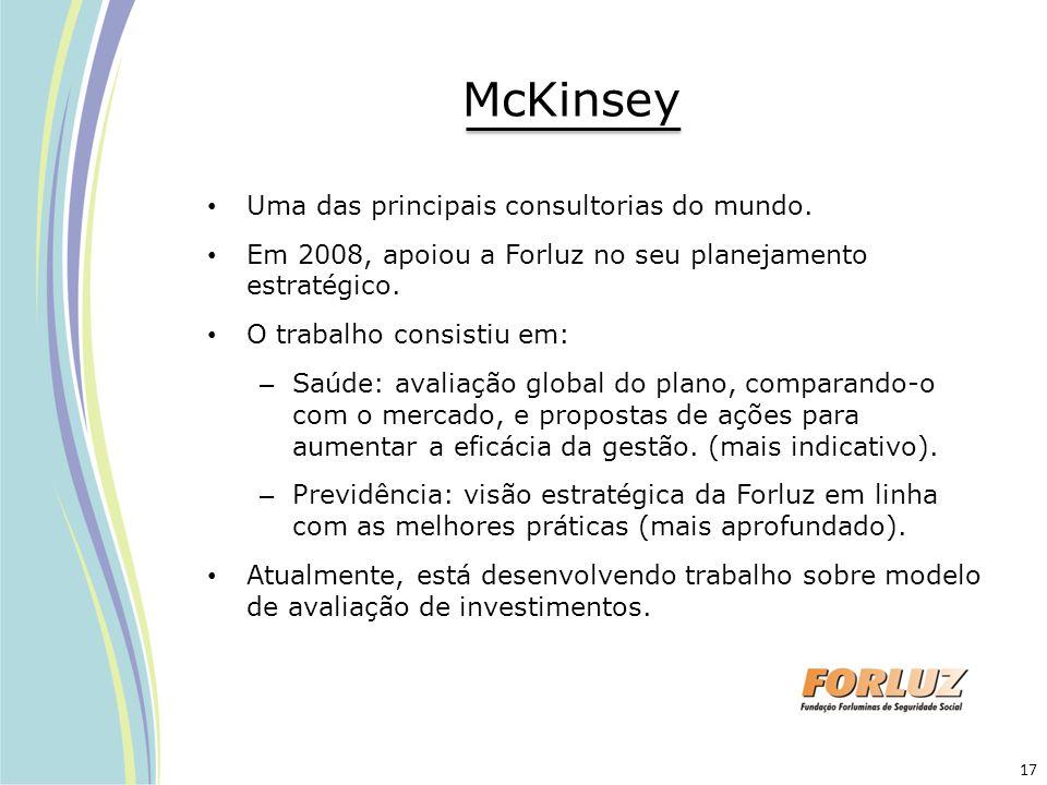 McKinsey Uma das principais consultorias do mundo.