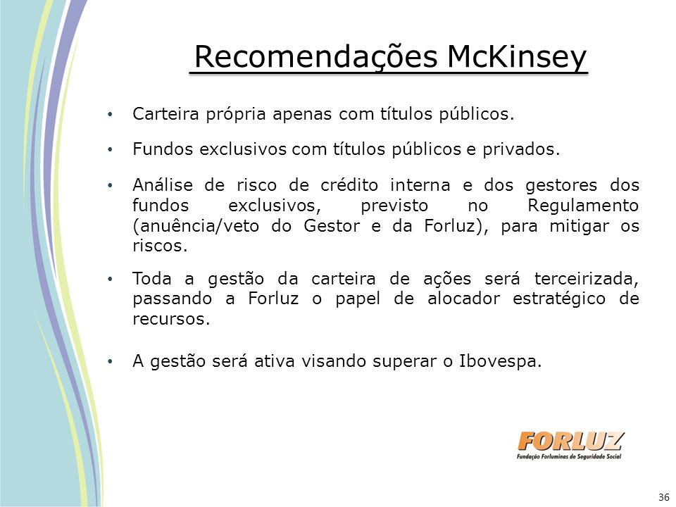 Recomendações McKinsey