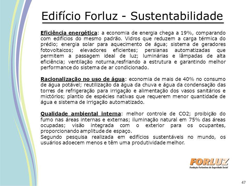 Edifício Forluz - Sustentabilidade