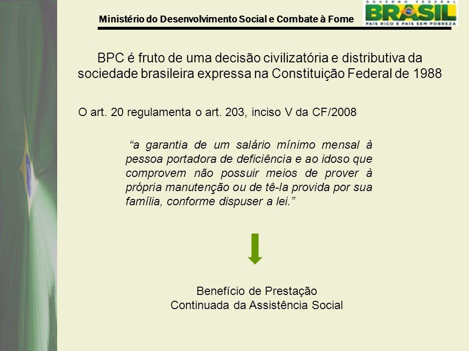 Benefício de Prestação Continuada da Assistência Social