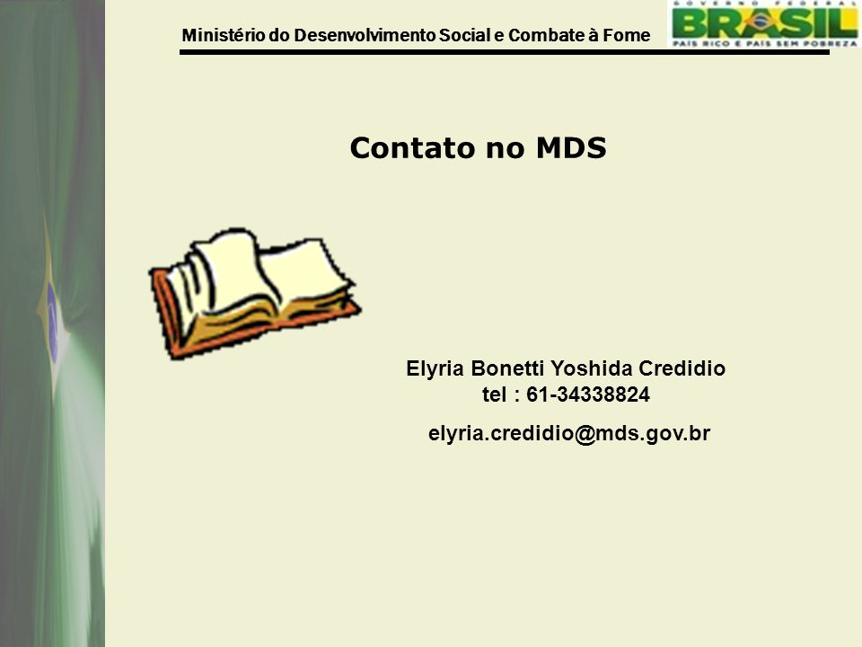 Elyria Bonetti Yoshida Credidio tel : 61-34338824