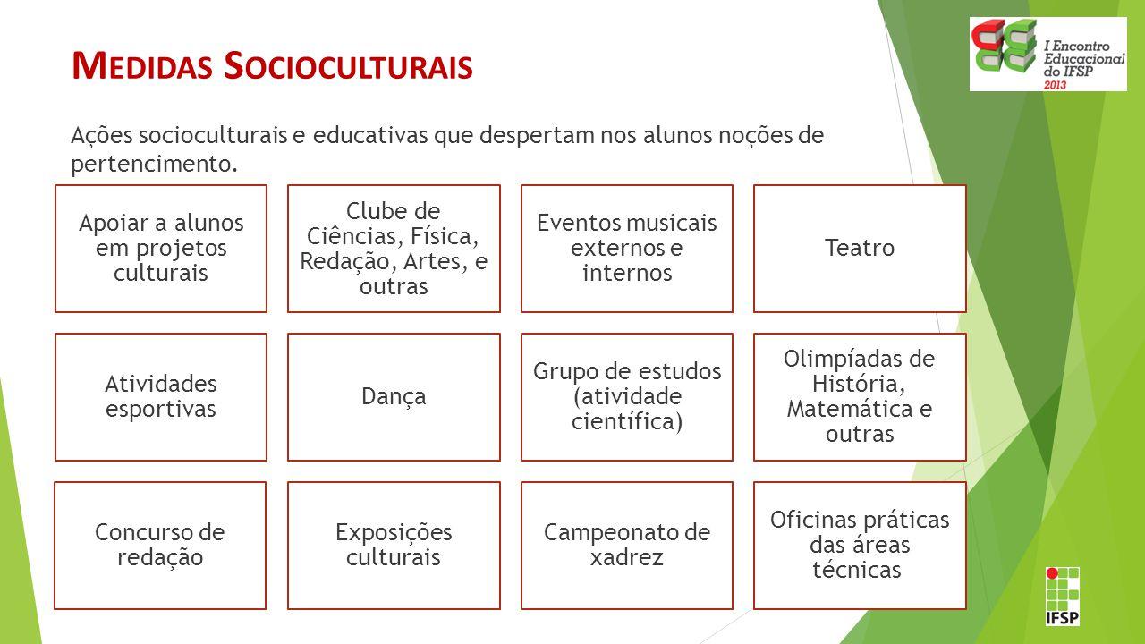 Medidas Socioculturais