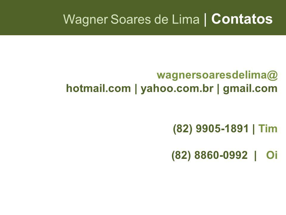 Wagner Soares de Lima | Contatos