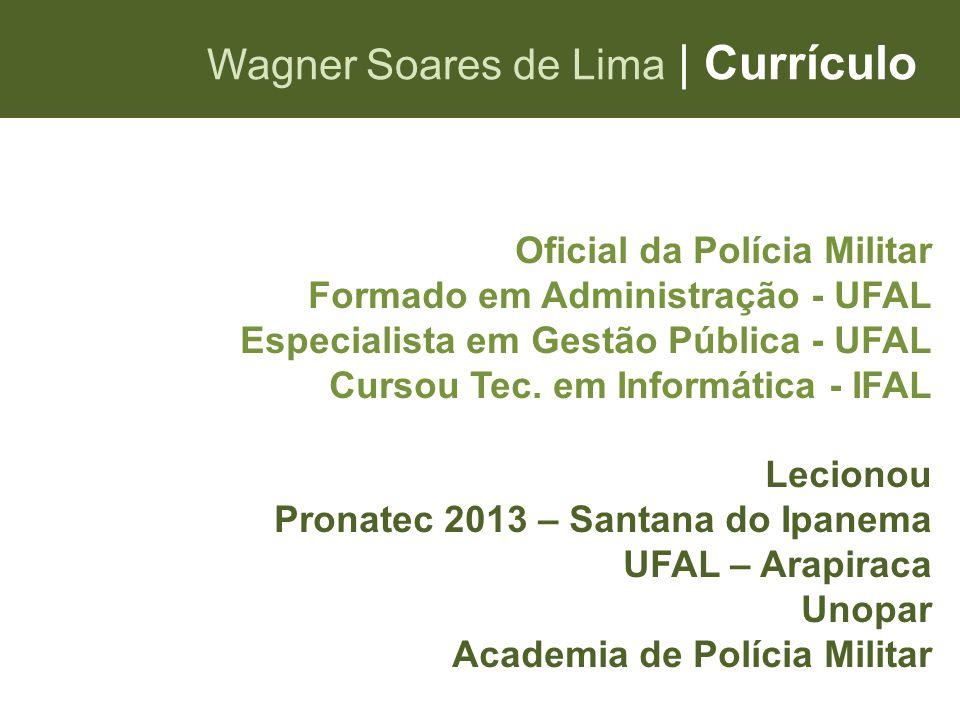 Wagner Soares de Lima | Currículo