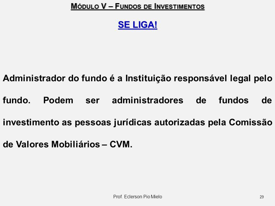 Prof. Eclerson Pio Mielo