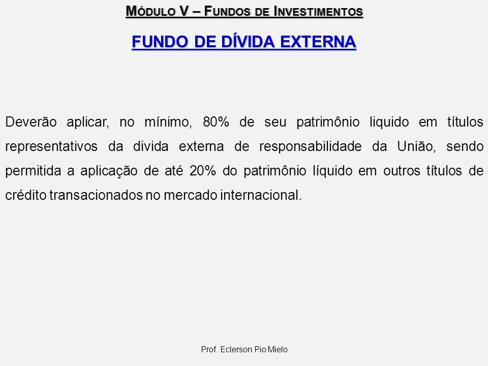 FUNDO DE DÍVIDA EXTERNA