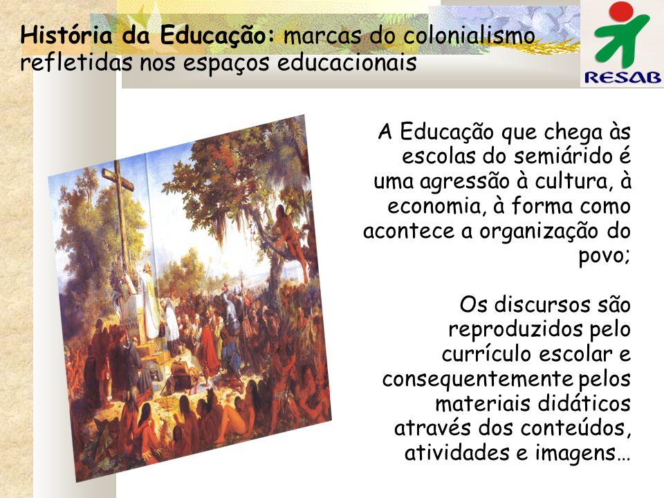 História da Educação: marcas do colonialismo refletidas nos espaços educacionais