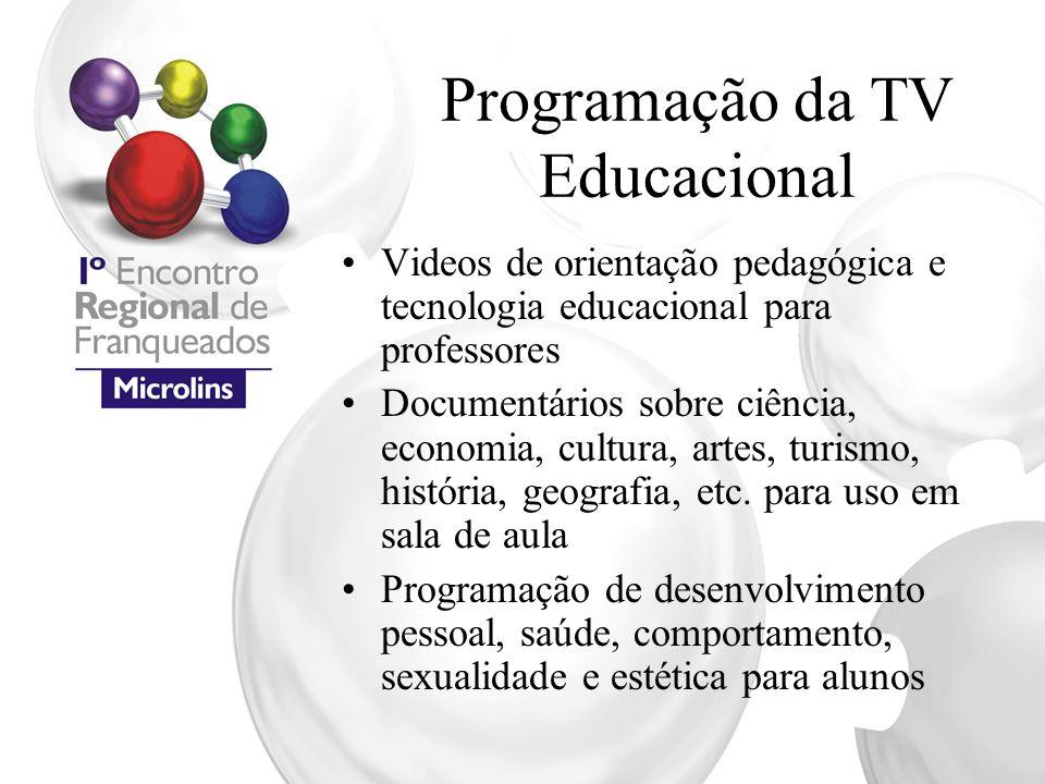 Programação da TV Educacional