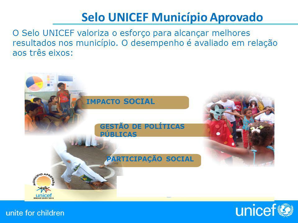 Selo UNICEF Município Aprovado