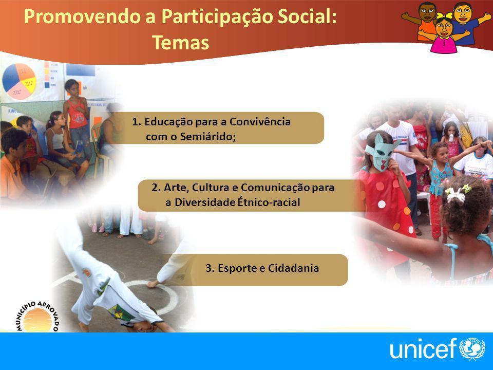 Promovendo a Participação Social: