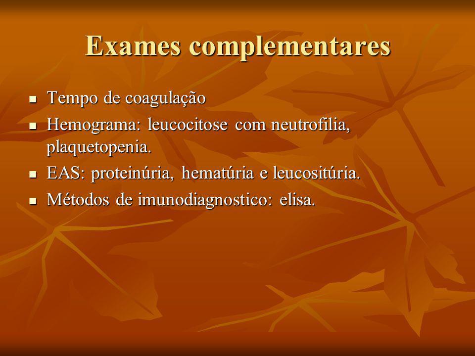 Exames complementares