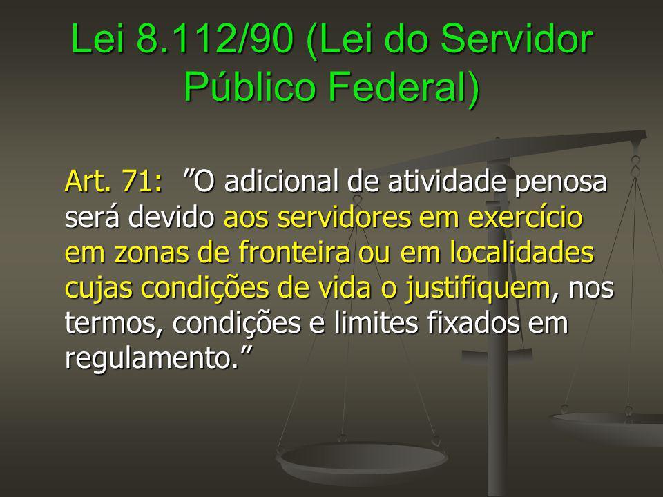 Lei 8.112/90 (Lei do Servidor Público Federal)