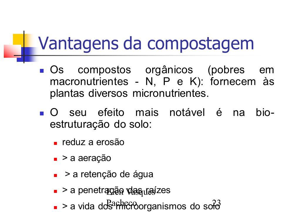 Vantagens da compostagem