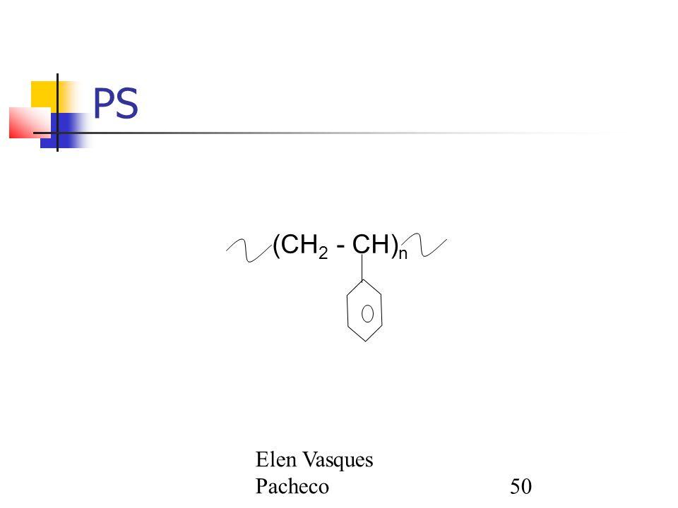 PS (CH2 - CH)n Elen Vasques Pacheco