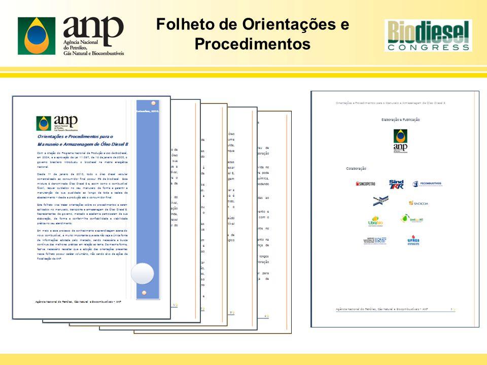 Folheto de Orientações e Procedimentos