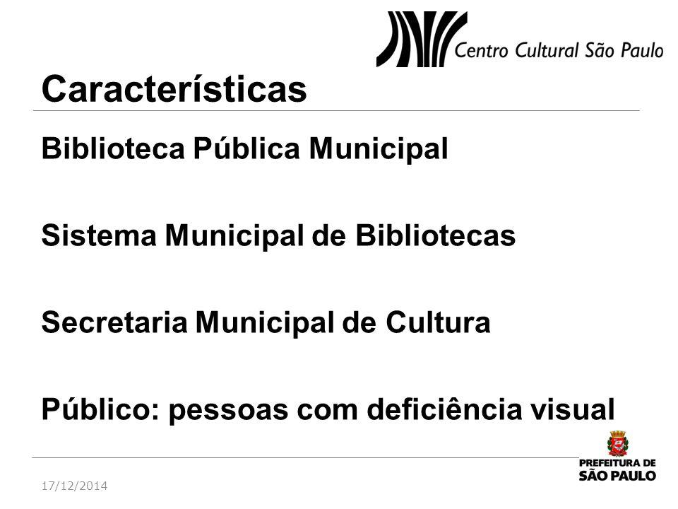 Características Biblioteca Pública Municipal