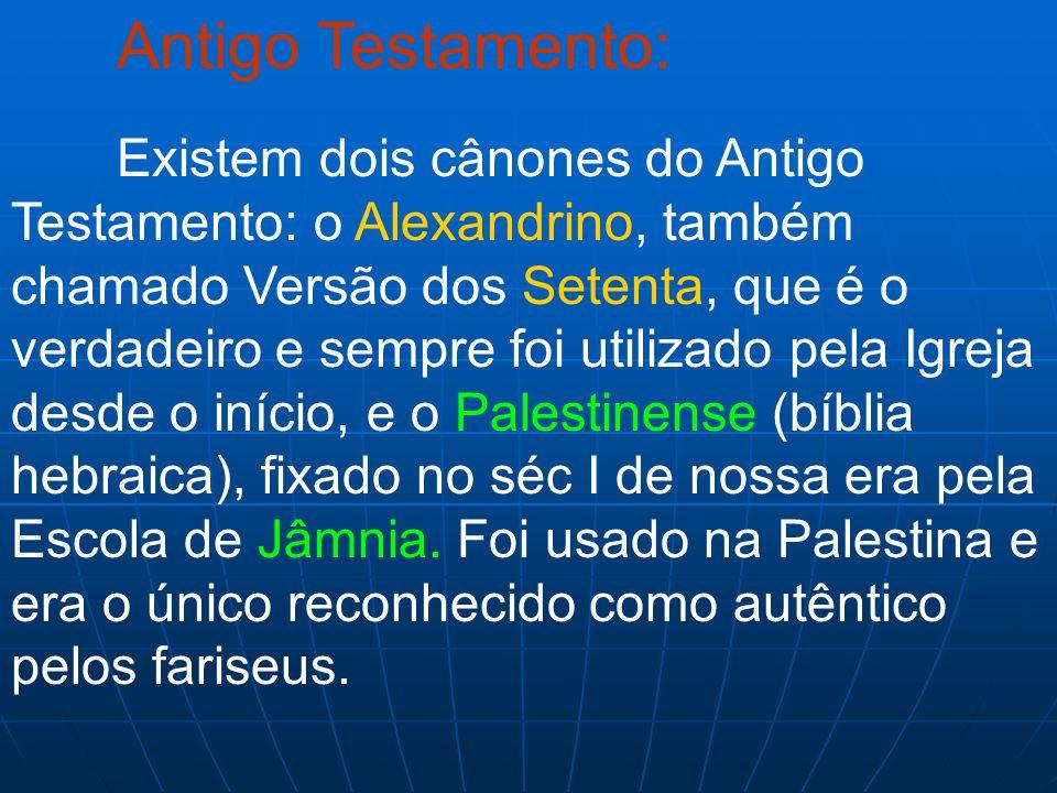 Antigo Testamento: