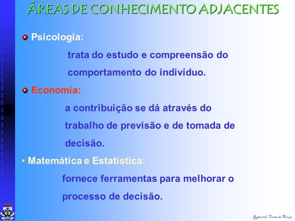 ÁREAS DE CONHECIMENTO ADJACENTES