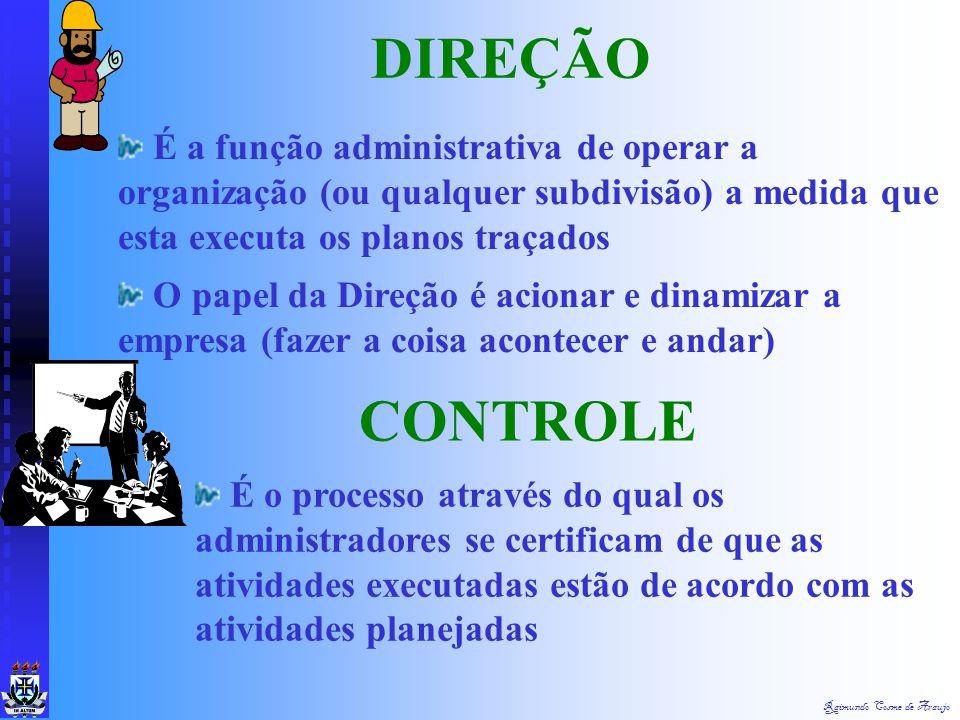 DIREÇÃO É a função administrativa de operar a organização (ou qualquer subdivisão) a medida que esta executa os planos traçados.