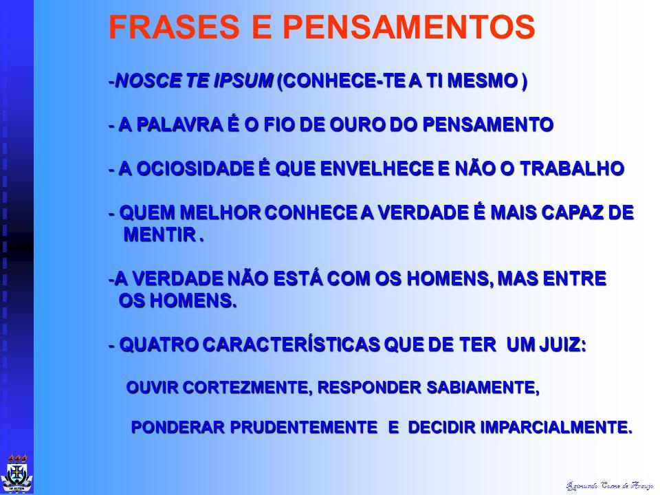FRASES E PENSAMENTOS NOSCE TE IPSUM (CONHECE-TE A TI MESMO )