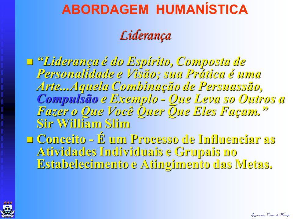 Liderança ABORDAGEM HUMANÍSTICA