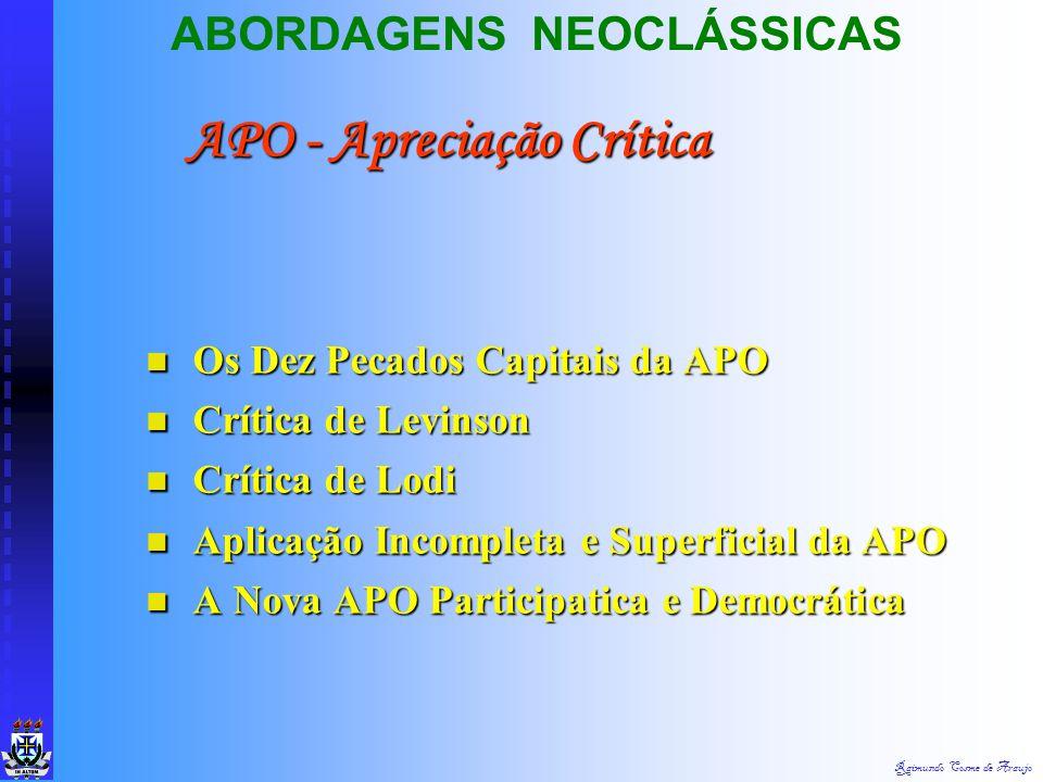 APO - Apreciação Crítica