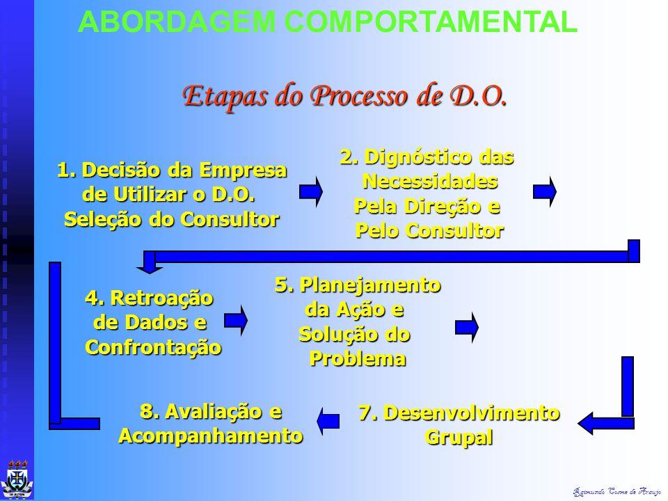 Etapas do Processo de D.O.