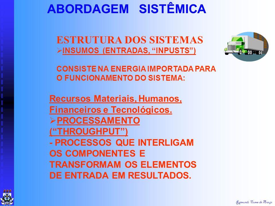 ABORDAGEM SISTÊMICA ESTRUTURA DOS SISTEMAS