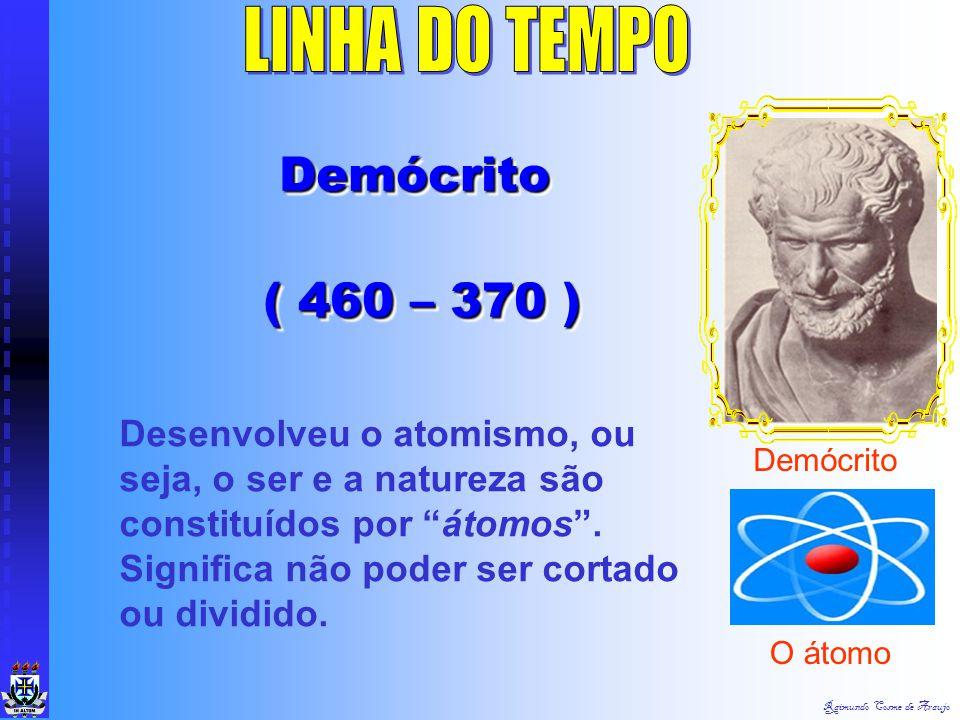 LINHA DO TEMPO Demócrito ( 460 – 370 )
